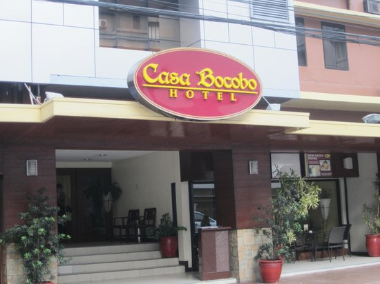 Casa Bocobo Hotel : this a pic of Casa Bocobo during my stay
