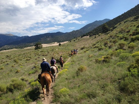 Zapata Ranch - A Nature Conservancy Preserve: out riding