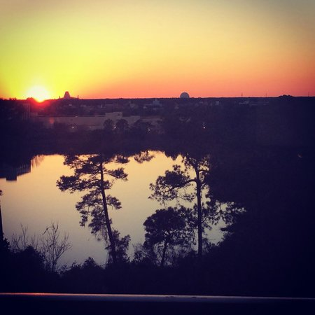 Best Western Lake Buena Vista - Disney Springs Resort Area: View from our room