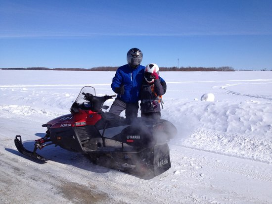 Mountain Ash Farm : Snowmobilers win Furthest Ride Contest