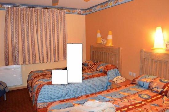 Disney's Hotel Santa Fe: 2 eme lit double