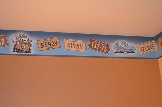 Disney's Hotel Santa Fe: frise chambre