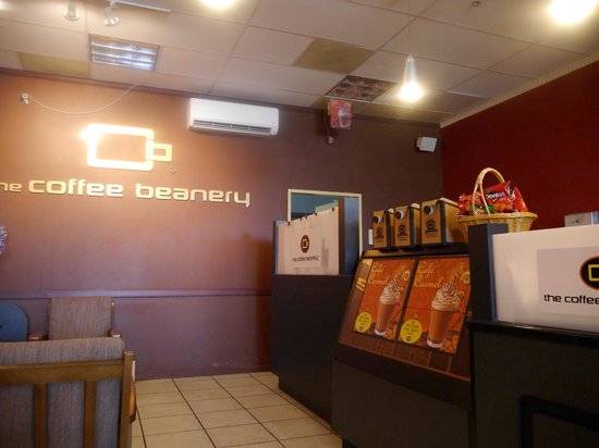 Coffee Beanery Fountain Plaza: 店内