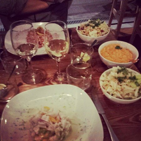 Saline Ceviche Bar : ceviches et accompagnements