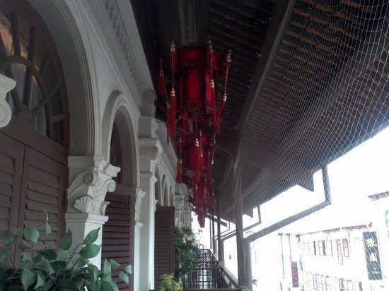 Santa Grand Hotel Lai Chun Yuen: lovely little balcony on the room we had