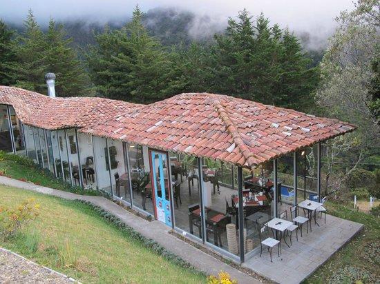 Dantica Cloud Forest Lodge: great dining area