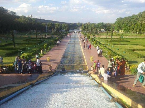 Brindavan Garden : center view