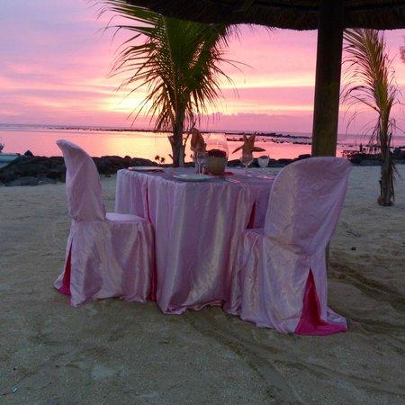 Anelia Resort Villas & Spa : petit diner en amoureux