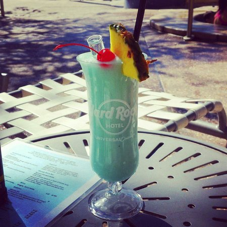 Hard Rock Hotel at Universal Orlando: Awesome Drinks with a Tooter!