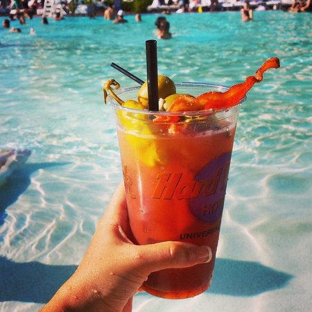 Hard Rock Hotel at Universal Orlando: Best Bloody Mary Ever!