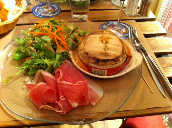 L'Etable: Camembert rôti
