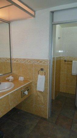 Howard Johnson Calle Real Morelia: Step Up to Bathroom