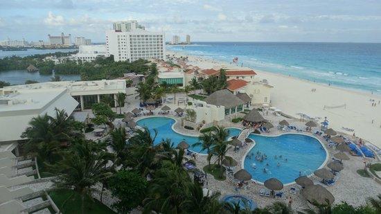Grand Park Royal Cancun Caribe : Vista do quarto