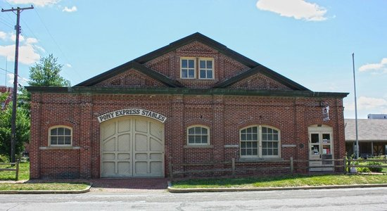 Pony Express Museum : Pony Express Stables / Museum