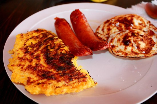 Hacienda Dona Carmen: Desayuno