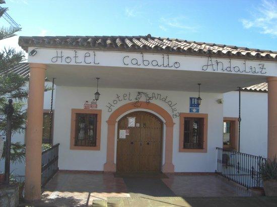 Hotel Caballo Andaluz: PUERTA DE ENTRADA
