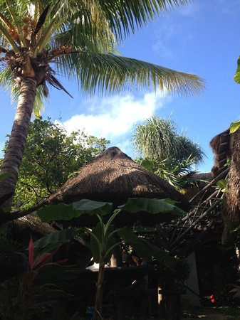 Hotel Kin Ha Pueblo: le patio de l'hotel