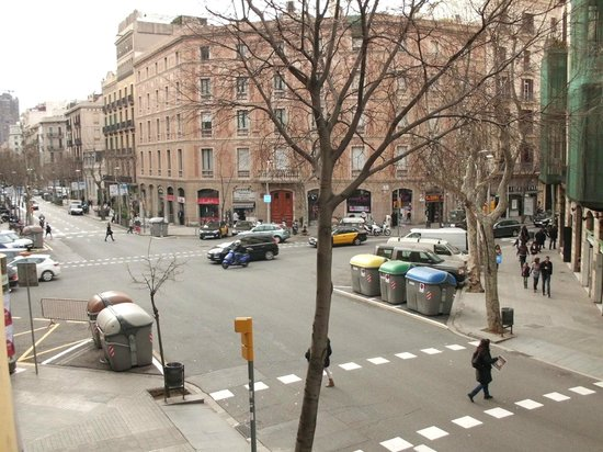 Catalonia Eixample 1864 : View looking South.