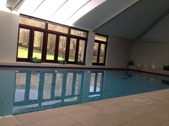Nant Ddu Lodge Restaurant: Near private pool time looking out on the great outdoors