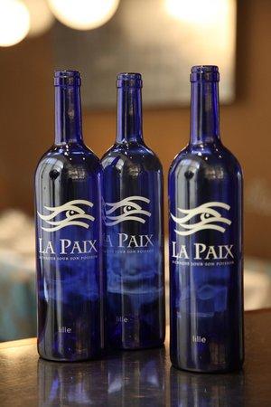 Brasserie de La Paix : Le logo de La Paix