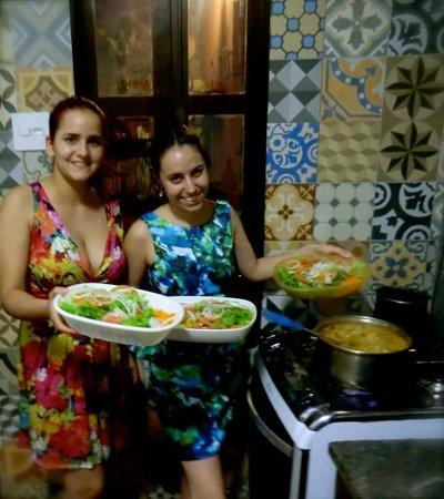 Alma de Santa Guest House: Jantar no Alma de santa- Carreteiro da Lu e da Ju.