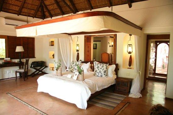 Sanctuary Chobe Chilwero : Habitacion
