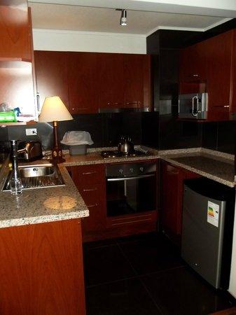RQ Central : cozinha da suíte