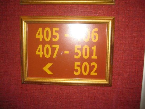 Hotel Louvre Bons Enfants: 502