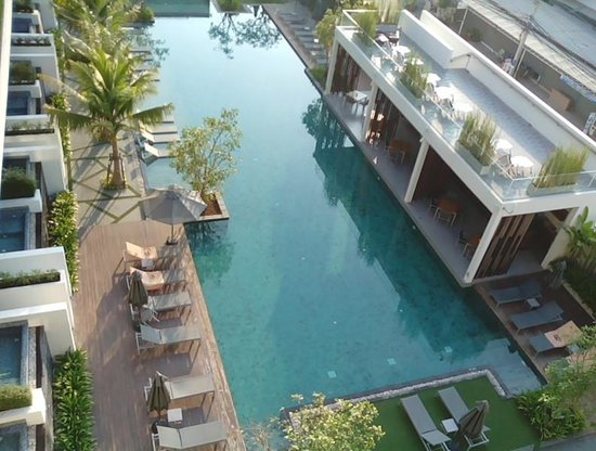 G Hua Hin Resort & Mall: View over pool from balcony