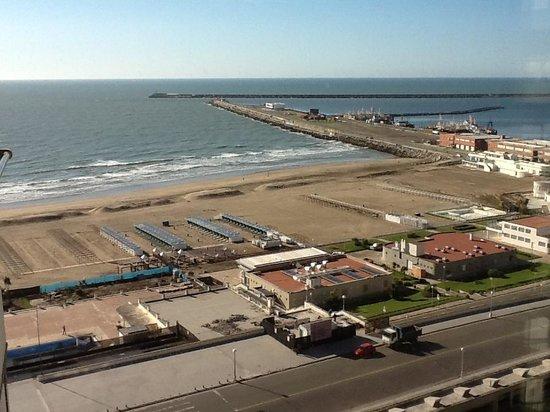 Hotel Costa Galana: Vista desde la ventana de la habitacion