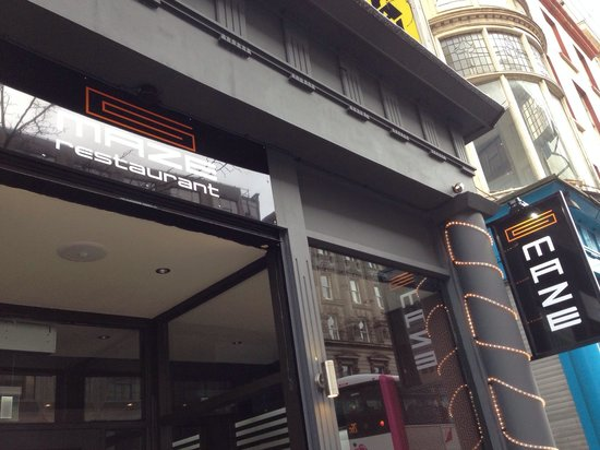 MAZE Restaurant: Newest member of the Belfast Eats Scene, from the BFM