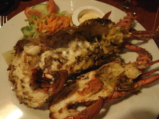 Langouste, restaurant l'Atlantis
