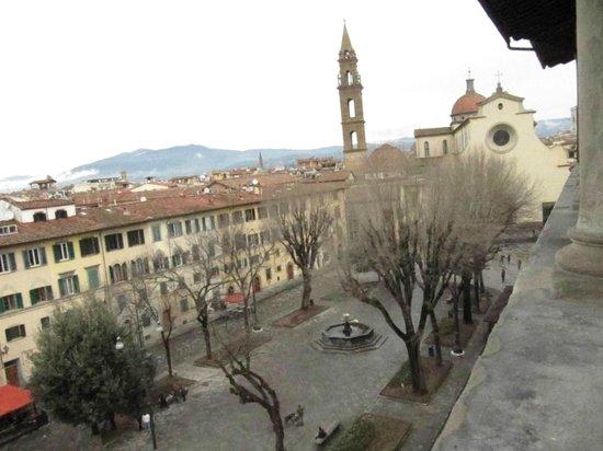 Hotel Palazzo Guadagni: p.zza santo spirito