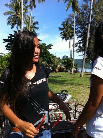 Kite Zone Phuket : Bua (Dave's wife)