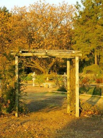 Quiet Mountain Country House: Garden