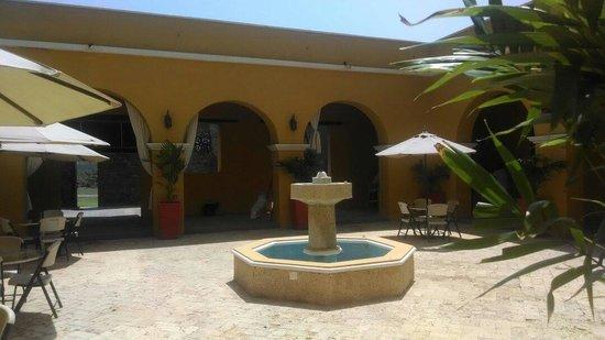 Castillo de Salgar: Patio interno. Lugar hermoso.