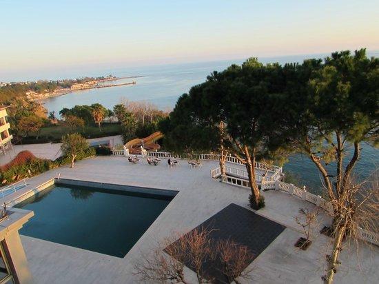 Lara Hotel Antalya: Blick vom Balkon