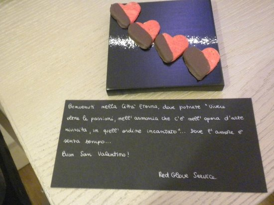 Gran Melia Rome: omaggio dolci