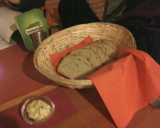 La Torretta: Pane e burro