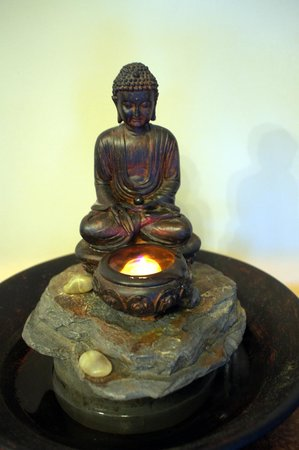 Alexandra House Holistic Health & Wellbeing Spa: Water feature