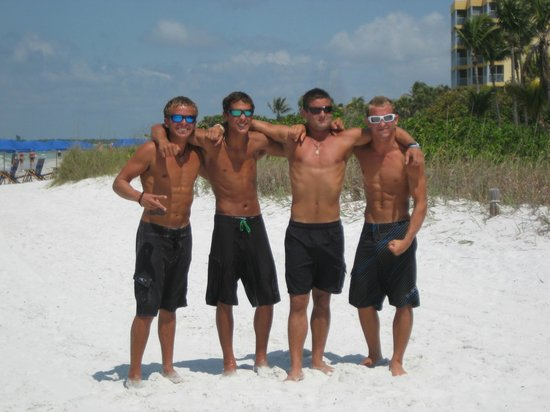 Holiday Water Sports: Just a few of our tour guides Gary, Garrett, Jake and Arlin
