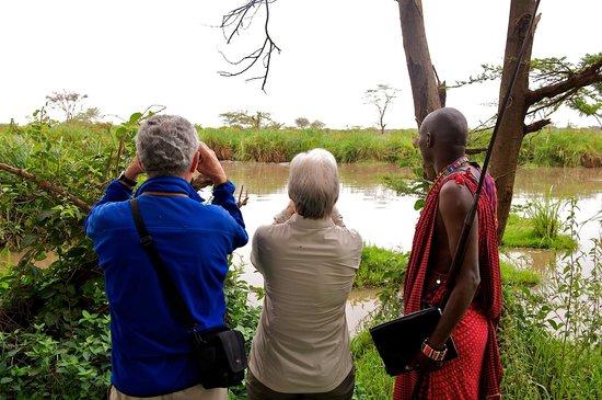 Voyager Ziwani Camp: Nature walk