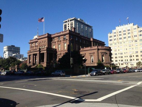 InterContinental Mark Hopkins San Francisco: Visão do hall