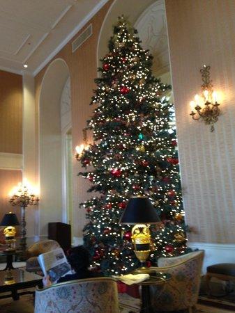 InterContinental Mark Hopkins San Francisco: Hall do hotel