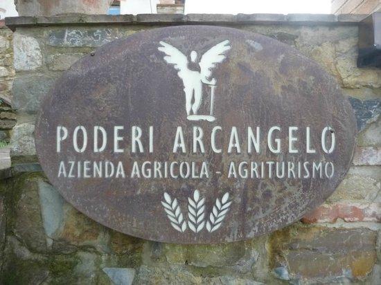 Poderi Arcangelo Agriturismo Farmhouse: Insegna