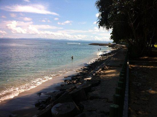 Kila Senggigi Beach Lombok: View on the bay