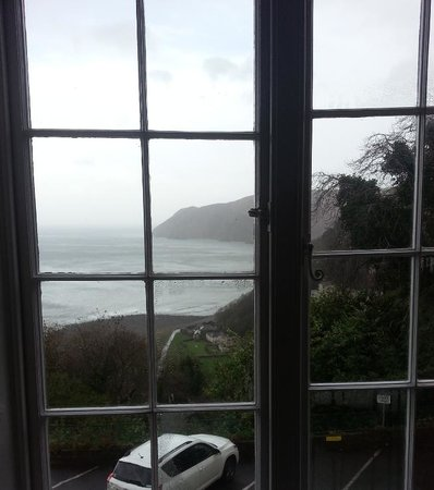 Lynton Cottage Hotel: View from our window.