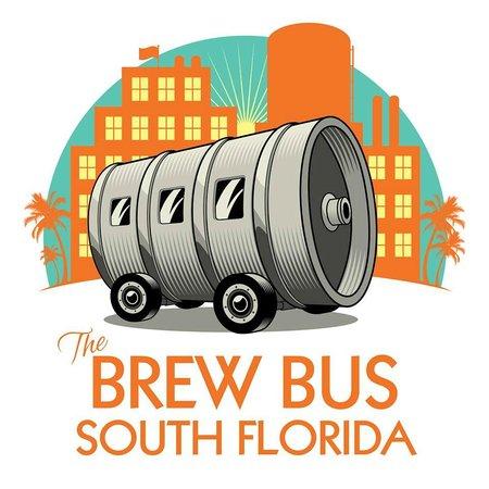 The Brew Bus-South Florida: SoFlo Brew Bus Official Logo