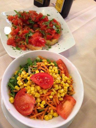 Ristorante Pizzeria Dogana: Green salad