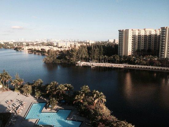 Hilton Miami Airport : Vista do décimo andar